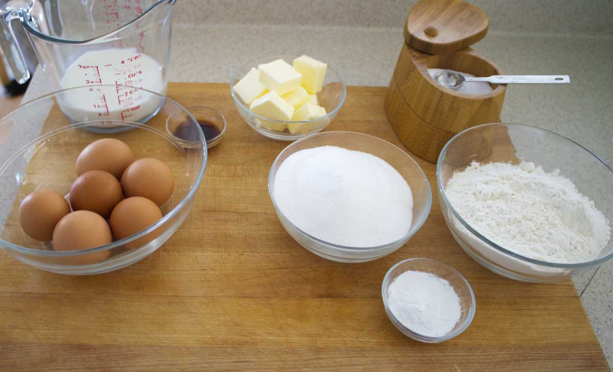 Lane Cake Ingredients