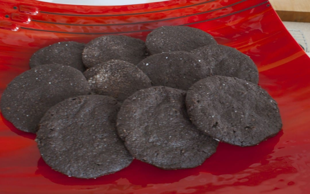 Black Chocolate Cranberry Cookies Recipe