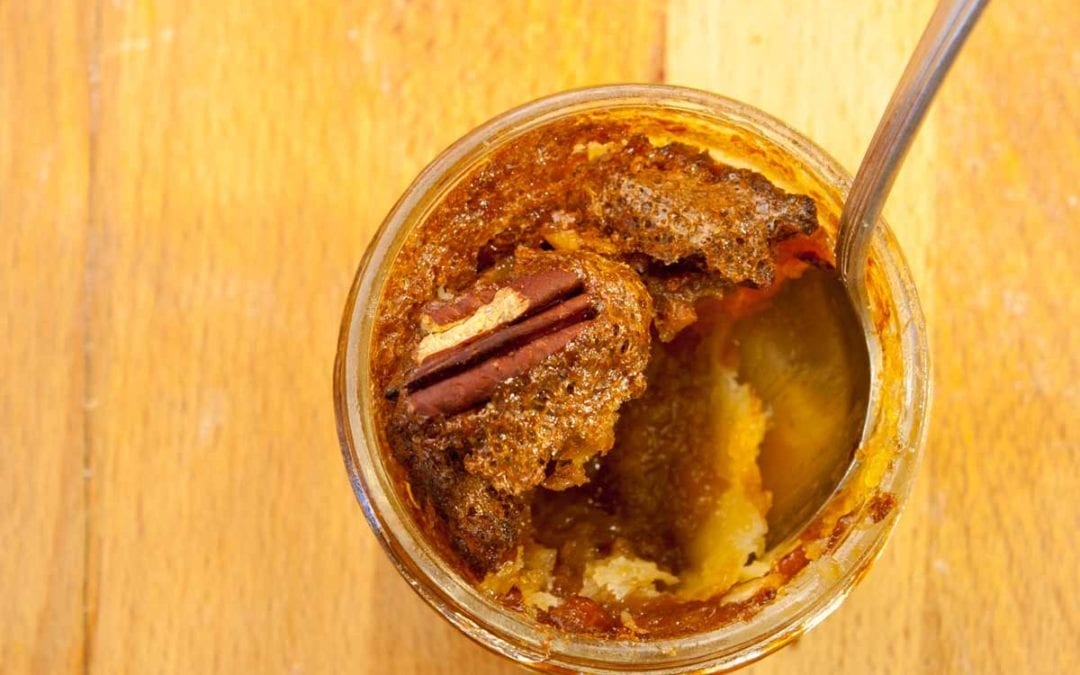 Pecan Pie in Jars